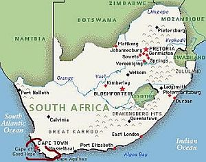Carte Meteo Afrique Du Sud.Climat Afrique Du Sud Temperature Precipitations Quand