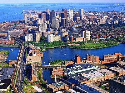 Boston d'en haut