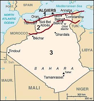 Carte Algerie Reggane.Climat Algerie Temperature Precipitations Quand Partir