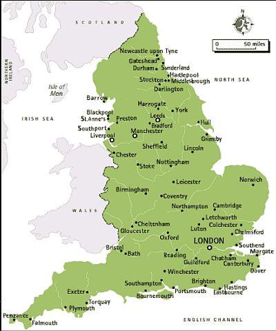 Température Angleterre
