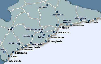Carte Espagne Benalmadena.Climat Costa Del Sol Temperature Precipitations Quand Partir