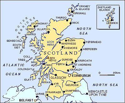 Climat Grande Bretagne: température, précipitations, quand partir