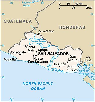 Carte - El Salvador
