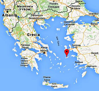 Position d'Ikaria
