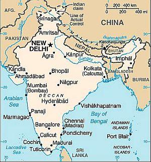 Carte Inde Principales Villes.Climat Inde Temperature Precipitations Quand Partir Que