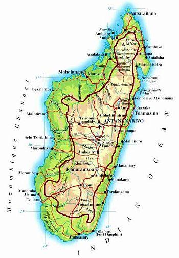 Carte Climat Madagascar.Climat Madagascar Temperature Precipitations Quand Partir