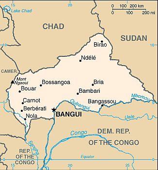 republique centrafricaine climat