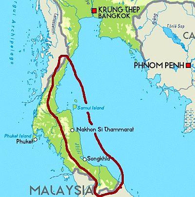 Carte Cote Ouest Thailande.Climat Thailande Temperature Precipitations Quand Partir