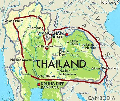 Carte Thailande Nord Ouest.Climat Thailande Temperature Precipitations Quand Partir Que