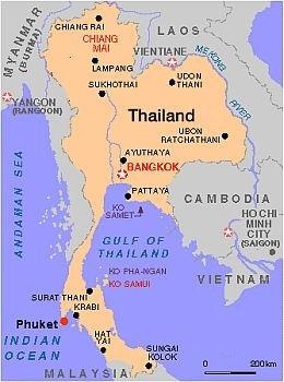 Carte Thailande Climat.Climat Phuket Temperature Precipitations Quand Partir