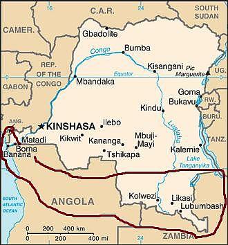 Climat Republique Democratique Congo: température, précipitations ...