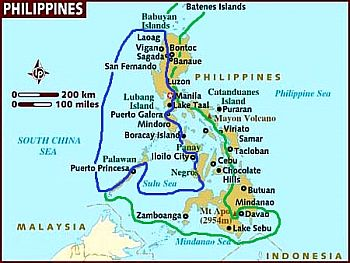 Philippines - zones au climat tropical